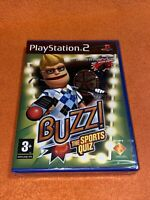 Buzz ! : The Sports Quiz - PS2 Playstation 2 game. UK PAL. Still new & sealed.