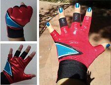 Harley Quinn Glove suicide squad biker cosplay costume