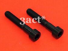 2pcs M6 x 35mm Titanium/Ti Bolt fit Chris King, Ritchey, FSA Headset - Black