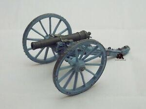 Canon Del Prado Britannique Léger 6 Livres Anglais plomb 1796 Artillerie