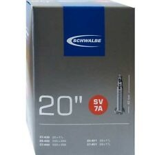 Schwalbe SV 7A Chambre à air vélo 20″ 20X1 1/8-1 3/8″ 28/37-438/451 sv40mm