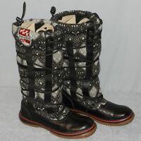 Womens PAJAR Winter Regatta Snow Boots Size 8 - 8.5 Black Waterproof Lined Tall