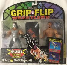 WCW Grip 'N Flip Wrestlers, Sting & Buff Bagwell, Series 2 NWO WWE