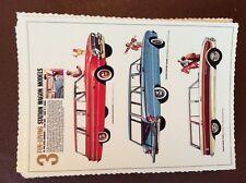 g1f postcard unused reprint advert card australia 1962 fun loving station wagons