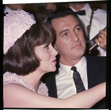 ROCK HUDSON GINA LOLLOBRIGIDA COME SEPTEMBER PRESS PHOTO SHOOT TRANSPARENCY RARE