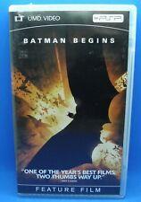 Sony PSP UMD Movie Batman Begins - Christian Bale, Morgan Freeman, Katie Holmes