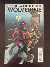 Death of Wolverine #1 2014 Marvel Variant Cover Pasqual Ferry VF (8.5) Unread