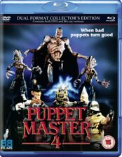 NEW Puppet Master 4 - The Demon Blu-Ray + DVD