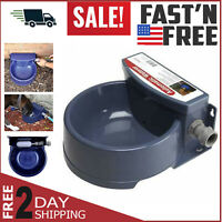 Automatic Pet Waterer Outdoor Water Dispenser Auto Dog & Cat Bowl Dish Supplies