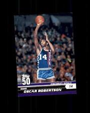 2007-08 Topps 50 #43 Oscar Robertson (B)