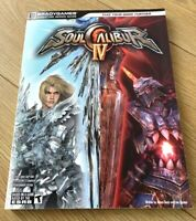 SOUL CALIBUR IV (4) OFFICIAL STRATEGY GUIDE By BRADY GAMES VGC QUICK DESPATCH