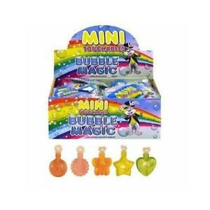 1-48Pc Magic Mini Touchable Bubbles Kids Loot Goody Party Bag Pinnata Filler Toy