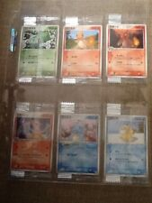 Japanese Meiji Promo Pokemon 12 Card Set CHARMELEON CHARIZARD PIKACHU Sealed NEW