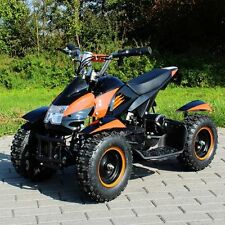 Kinderquad Elektro Quad Miniquad Kinder ATV Cobra 800Watt Pocketquad schwarz/ora
