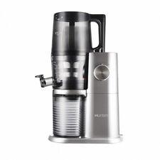 Hurom Wonder Premium H-AI Slow Juicer Squeezer Fresh Fruit Juice Platinum color
