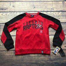 NBA Youth Boys Small 8 Toronto Raptors Tek Warm Pullover Sweatshirt NEW