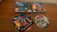 Chicken Run PS1 (Sony PlayStation 1) blitz Eidos Dreamworks Aardman Pathe PSONE
