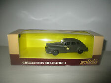 CHRYSLER HQ COLLECTION MILITARE I N°6042 SOLIDO SCALA 1:50