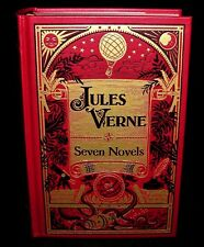 Jules Verne ~ Seven Novels ~ Leather Bound Collectible Edition