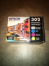 Epson 302 Claria Premium Original Ink Cartridge Multi-pack Exp 11/2020