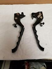 CNC Brake Clutch Adjustable Levers For Harley Sportster XL883 XL1200 2004-2013