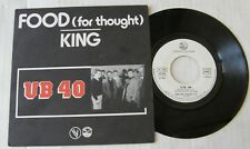 UB 40 (45T) FOOD FOR THOUGHT - KING