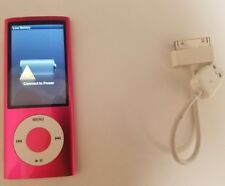 IPod 5th Gen 8GB A1320 Pink Music Player Tested Works With USB