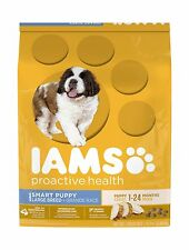 IAMS PROACTIVE HEALTH Puppy Dry Dog Food Large Breed 15 lbs. Free Shipping