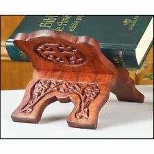 Products Collapsable Rosewood Prayer Book Bible Stand Church And Chapel Supplies