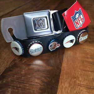 New England Patriots BELT Buckle Pro Football Fan Team Gear NFL Shop Champions