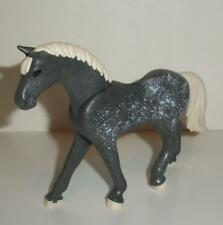 Playmobil      Stables/Farm - Dappled Grey Horse with White Mane & Tail - NEW