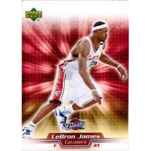 LEBRON JAMES 2005-06 UPPER DECK LEBRON JAMES FACTORY SET - LBJ5