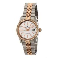 Empress Constance Automatic Women's Rose Gold Bracelet Watch w/ Date EM1507