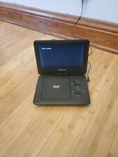 """Sylvania 10"""" portable dvd player"""