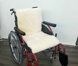 Wheelchair Backrest and Seat Panel Covers - Sheepskin