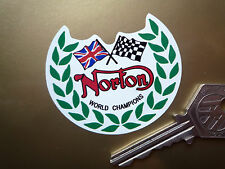 NORTON Garland motorcycle stickers Dominator Manx Atlas
