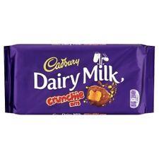 CADBURY DAIRY MILK CRUNCHIE CHOCOLATE BARS  3 x 200G