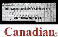 Toshiba Satellite Pro P200 P200D P205 P205D X200 X205 Keyboard Clavier Canadian