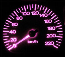 Mazda MX-6 MX6 Pink LED Dash Instrument Cluster Light Upgrade Kit