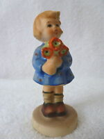 """Vintage GOEBEL """"Girl With Nosegay"""" Girl With Flowers  FIGURINE #239 /A  TMK-4"""