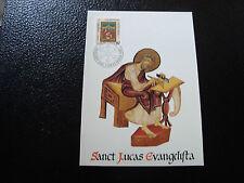LIECHTENSTEIN scheda 1° giorno francobollo/stamp Yvert e Tellier n° 873 CY16
