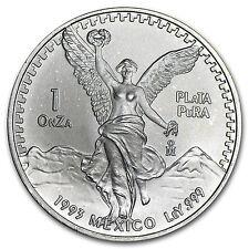 1993 Mexico 1 oz Silver Libertad BU - SKU #10213
