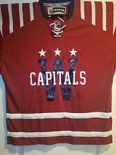 2014-2015 Autographed Washington Capitals Winter Classic Team Jersey