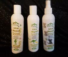 Set of 3 Shampoo, Conditioner & Antirepilente Para Piojos Eternal Spirit Beauty