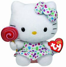 Ty Hello Kitty Lollipop Plush Toy Small