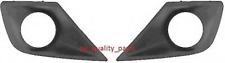 Peugeot 207 2009- Fog Lamp Surround Frame Cover Black Left + Right Side Set