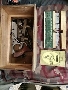 Vintage Stanley No 50 Combination Plane and cutters