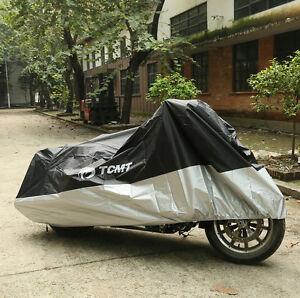 Outdoor UV Protector Motorbike Bike Rain Dust Motorcycle Cover Waterproof XXXL