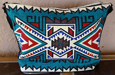 Canvas Stencil Purse 684A-HIPC Southwest Southwestern Design Sturdy Cotton Bag
