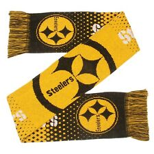 Pittsburgh Steelers Gradient Scarf Knit Winter Neck - Double Sided Big Team Logo
